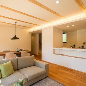 室内内観2 高知県O様邸注文住宅施工実績 すべてのお部屋が南向きお家