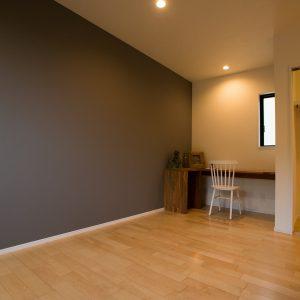 室内内観2 高知県土佐市A様邸注文住宅施工実績 ガレージのあるL型の家