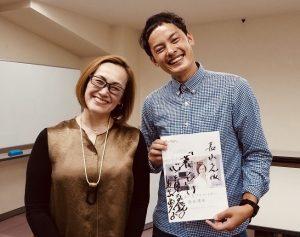 近藤典子先生との記念撮影