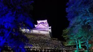 高知市中心部にある高知城にてチームラボ開催|高知市注文住宅SAI