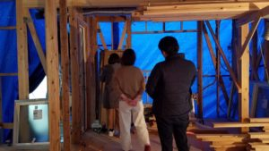 高知市にて注文住宅を建てているT様邸の写真 高知市注文住宅SAI