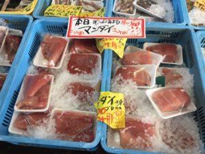 マンダイの魚が売られていた画像|高知市注文住宅SAI