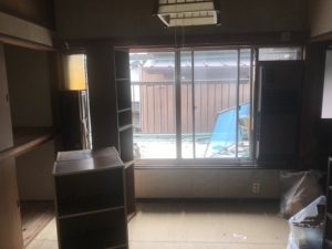 お部屋解体前の写真|高知市注文住宅SAI