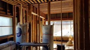 お部屋解体後の写真|高知市注文住宅SAI