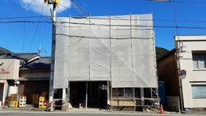 須崎市でリノベーション工事の外観写真|高知市注文住宅SAI