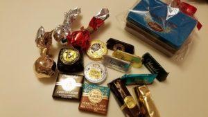 大阪のデパートで購入した量り売りのチョコ画像|高知注文住宅SAI