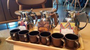 スターバックスリザーブロースタリー東京の飲み比べできるコーヒー画像|高知注文住宅SAI