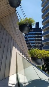 スターバックスリザーブロースタリー東京の雨樋のデザイン写真|高知注文住宅SAI