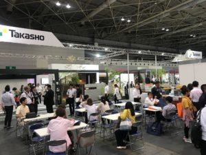 インテックス大阪にて関西エクステリアフェアの建物内部写真|高知注文住宅SAI