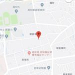 高知市朝倉本町2丁目にてSAIのオープンハウスの現地地図 高知市注文住宅SAI